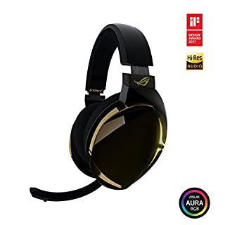 ROG Strix Fusion 700 Virtual 7.1 LED Bluetooth Gaming Headset for PC, PS4, and Nintendo Switch with Hi-Fi Grade ESS DAC, ESS Amplifier, Digital Microphone, Bluetooth and Aura Sync RGB Lighting (B07FK76DMF)   Amazon price tracker / tracking, Amazon price history charts, Amazon price watches, Amazon price drop alerts