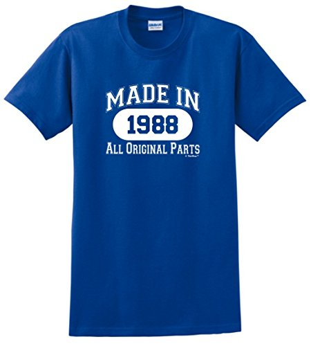 ThisWear 30th Birthday Gift Made 1988 All Original Parts T-Shirt