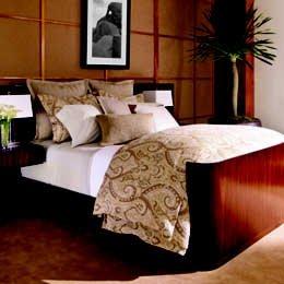 Lauren Ralph Lauren Desert Spa Bengal Stripe King Flat Sheet