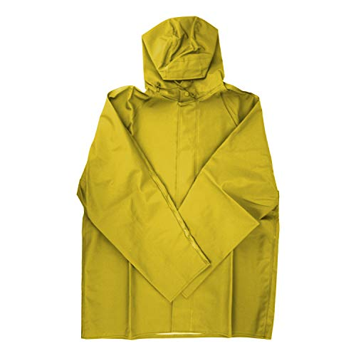 Dutch Harbor Gear HD201-YEL-L Yellow Large Quinault Rain Jacket by Dutch Harbor Gear (Image #1)