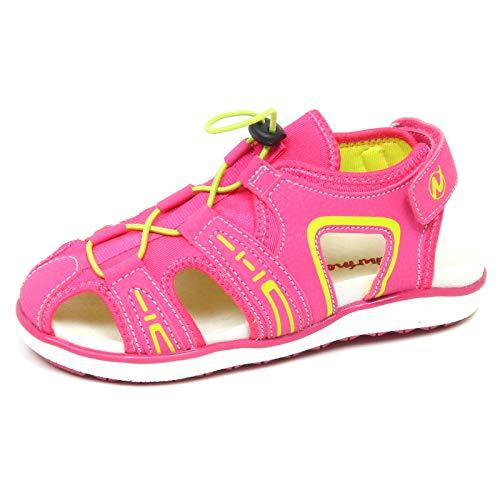 Sandalo Fuxia eco Sport Shoe Leather Tissue Fuschia E9208 Scarpe Naturino Bimba 5tnP6qP