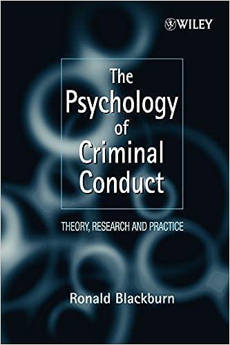 criminal psychology research
