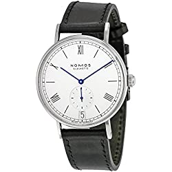 Nomos Ludwig Automatik Datum White Dial Stainless Steel Mens Watch 271