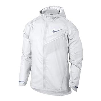 c1eb76161a5f9 Nike NK imposs ibly Light Sport pour Homme HD de Course Veste de pluie,  blanc