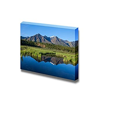 Mckinley Reflection in Lake on Alaska Home Deoration Wall Decor 12