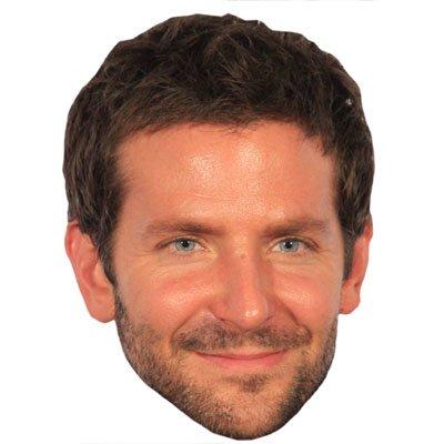 Bradley Cooper Celebrity Mask, Cardboard Face and Fancy Dress Mask (Celebrity Face Masks)