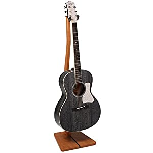 So There Wooden Guitar Stand - Handcrafted Solid Cherry Wood Floor Stands Best for Acoustic, Electric and Classical Guitars, Made in USA by So There