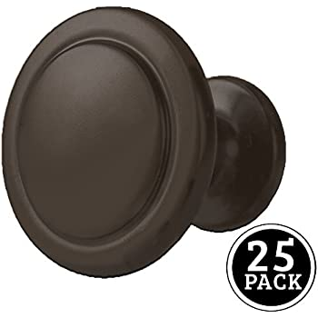 "Cosmas® 5560ORB Oil Rubbed Bronze Cabinet Hardware Round Knob - 1-1/4"" Diameter - 5 Pack durable modeling"