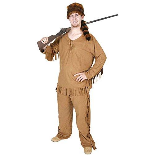 Adult Men's Daniel Boone Costume (Standard Size)