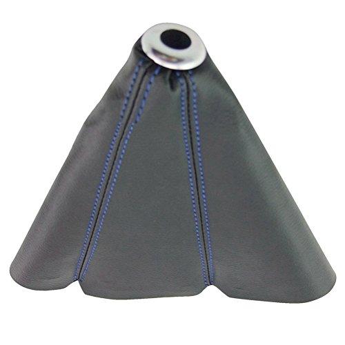 [해외]Eternalpower 범용 맞추기 PVC 가죽 쉬프트 부츠 커버 블랙 기어 쉬프터 부츠 블루 / 레드 / 옐로우 스티치/Eternalpower Universal Fit PVC Leather Shift Boot Cov