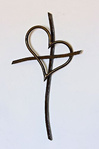 Patrick Neuwirth Promise Wall Cross - Crafted From Freeform Steel