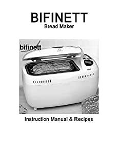 Bifinett Pan máquina eléctrica manual de instrucciones y recetas ...