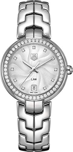 TAG Heuer Women's WAT1316.BA0956 Diamond-Accented Stainless Steel Watch