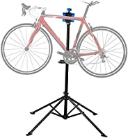 "Flexzion Bike Repair Stand Workstation, Bicycle Maintenance Workstand, 41""-75"" Adjustable Foldable C"