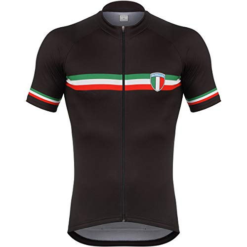 De Marchi PT-EVO Italian Jersey - Men's Black, L