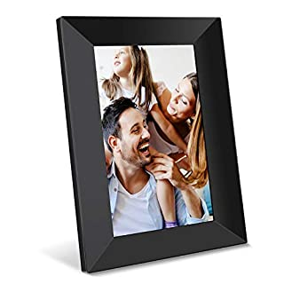 Feelcare Digital WiFi Picture Frame 8 inch, Send Photos or Videos from Anywhere, 16GB Storage,1280x800 IPS HD Display,Touchscreen for Easy Navigation