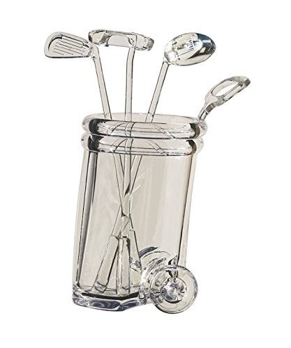 Diligence4us AS-0307 Ball Wine Stirrer with Golf Cart Clear]()