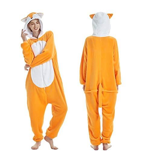 Fleece Onesie Pajamas for Women Adult Cartoon Animal Unicorn Christmas Halloween Cosplay Onepiece -