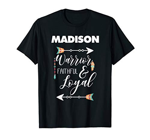 (Madison T-Shirt for Girls and Women Named Madison )