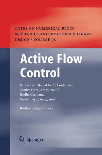 Active Flow Control: Papers contributed to the Conference