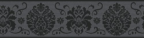 fine-decor-fdb07502s-black-campbell-peel-and-stick-border
