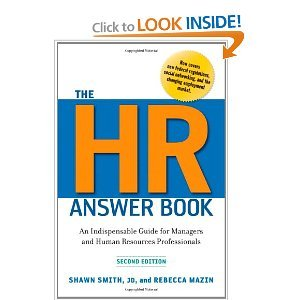 The HR Answer Book: An Indispensable Guide for Managers and Human Resources Professionals 2nd (Second) Edition pdf