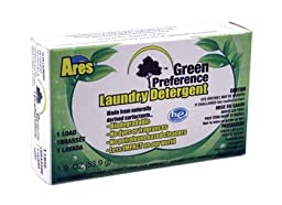 Ares Green Preference Laundry Powder - 1.9 oz - Coin Vend