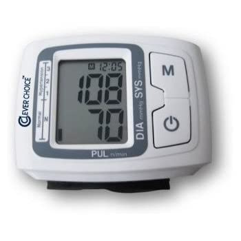 Clever Choice Fully Auto Digital Wrist BP Monitor with 120 Memory