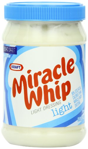 (Kraft Sandwich Shop Miracle Whip, Light, 15-Ounce Jars (Pack of 4))