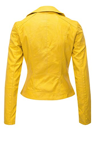 Only Femme OTW Biker Rose Onlsteady Blouson Leather Faux CC BxwqHprBg