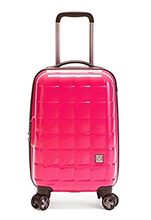 Antler Camden B1 Cabin Suitcase Pink: Amazon.co.uk: Luggage