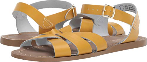 - Salt Water Sandals by Hoy Shoes Girl's The Original Sandal (Big Kid/Adult) Mustard 7 M US Big Kid