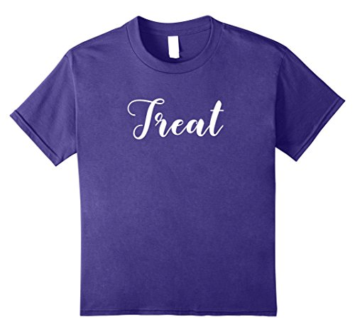Kids MATCHING SET Trick or Treat couples costume halloween shirt 10 (One Of A Kind Couples Halloween Costumes)