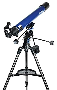 Blue Meade Instruments 216002 Polaris 80 EQ Refractor Telescope