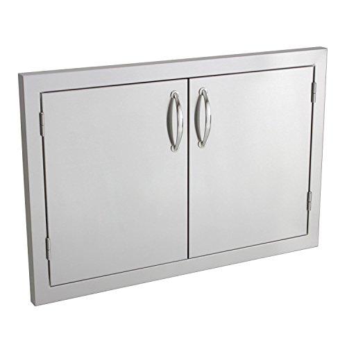 Summerset Masonry Double Access Masonry Doors, 30-Inch