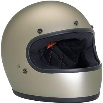 Biltwell Inc. Gringo Flat Titanium Full Face Helmet