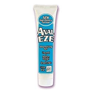 ANAL EZE (1.5 fl. Oz) Anal Desensitizing Cream (Pack of 3)