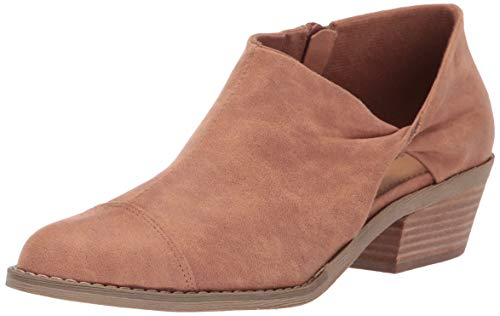 Report Women's DOUGIE Ankle Boot, tan, 8 M US