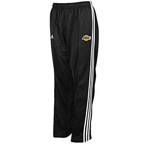 Lakers Warm Up Pants (Los Angeles Lakers Black NBA Kids Adidas 3 Stripe Warm Up Pants (Kids 5/6))
