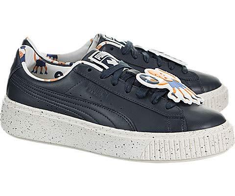 2eb1894e27 Amazon.com: PUMA x Tiny Cottons Basket Platform Speckle (Kids): Shoes