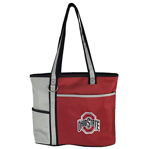 - NCAA Ohio State Buckeyes Tote Bag with Embroidered Logo