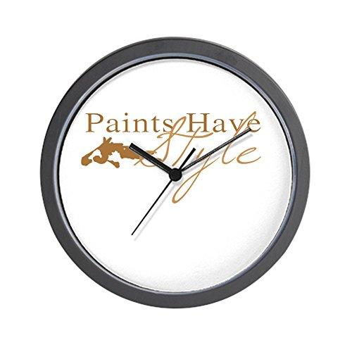 CafePress - Paint Horse Wall Clock - Unique Decorative 10