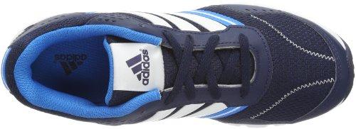 adidas A-Faito LT Lace D65306 Unisex - Kinder Laufschuhe Schwarz (collegiate navy/solar blue s14/running white)