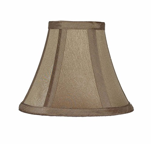 Urbanest 6-inch Chandelier Lamp Shade, Golden Taupe