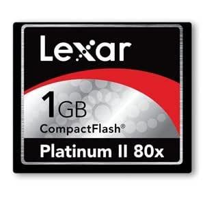 Lexar 1 GB Platinum II 80 x Compact Flash CF Tarjeta: Amazon ...