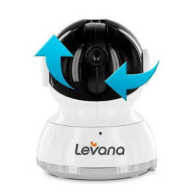 Levana Willow 5-Inch HD Touchscreen 2-Way Baby Video Monitor