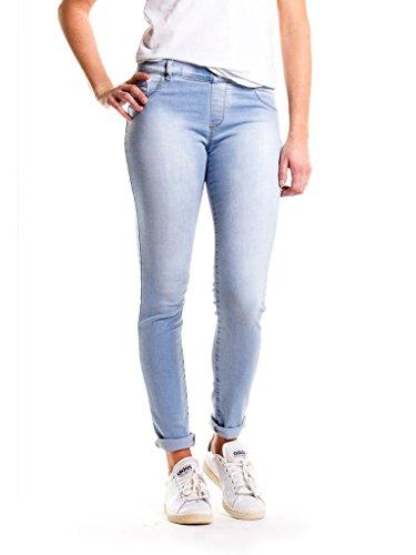 Carrera Jeans - Jeggings 767L822SS para mujer, tejido extensible, ajuste ceñido, cintura normal 810 - Luz Azul Lavado (Super Stone Wash)