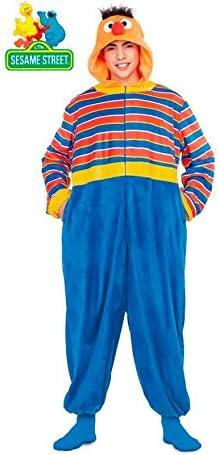 Barrio Sésamo Disfraz Pijama de Epi para Adultos: Amazon.es ...