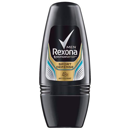 Price comparison product image New Rexona Sport Defence- Antiperspirant Deodorant Roll-on for Men 40ml