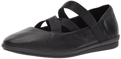 Hush Puppies Womens Meree Madrine Mary Jane Flat Black